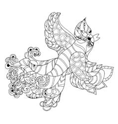 The Firebird Peacock vector
