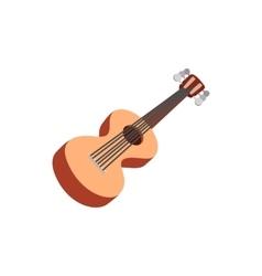 Classic guitar icon cartoon style vector image