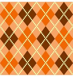 retro argile pattern vector image