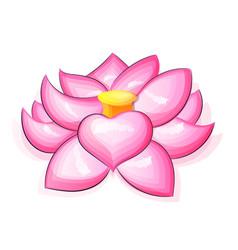 Lotus flower logo vector