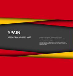 Background with spanish colors vector