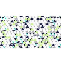 bright irregular abstract geometric vector image