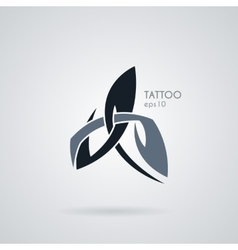 icon in the style of tattoos vector image