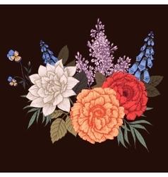 Nice flowers vector