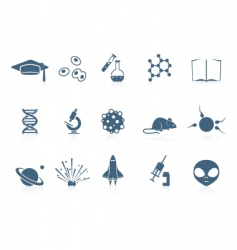 Science icons piccolo series vector