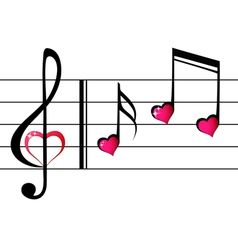 Music love - concept vector image vector image