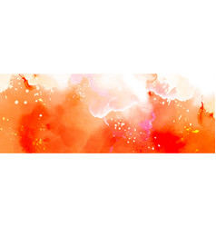 Abstract surface bright orange splash vector