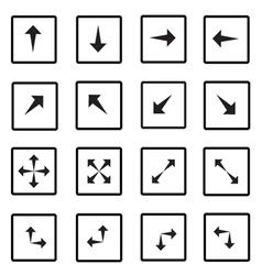 Arrow all 1 vector image
