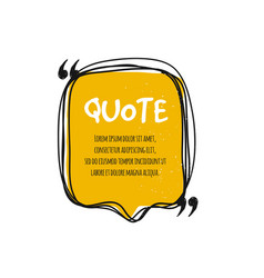 Chat bubble logo quote vector