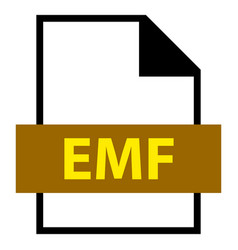 File name extension emf type vector