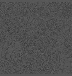 Gray thread on the dark background vector