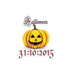 Halloween day vector
