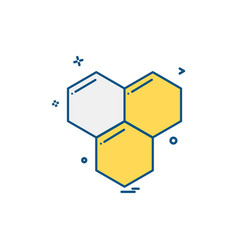 honey icon design vector image