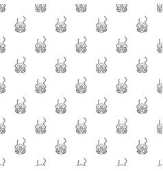 Mask protection pattern seamless vector