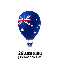 national australia day vector image