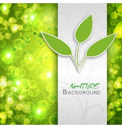 nature abstract concept vector image