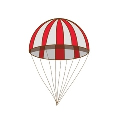 parachute icon image vector image
