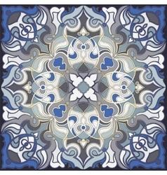 Square oriental pattern vector