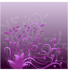 abstract decorative frames pink and purple vector image