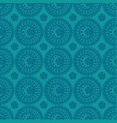 Abstract ornate circles vector