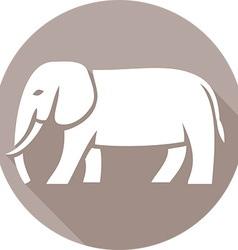 Elephant Icon vector image vector image