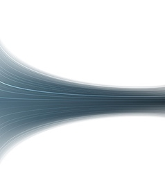 Abstract blue swoosh rapid wave folder vector image