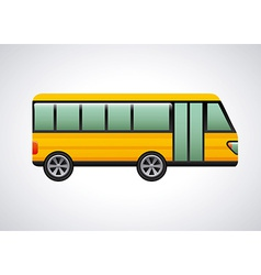 bus design vector image