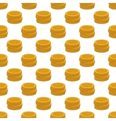 Coins pattern seamless vector image