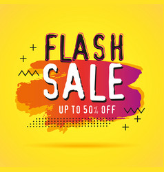 discount sale banners template vector image