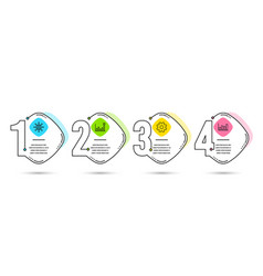 Efficacy service and international globe icons vector