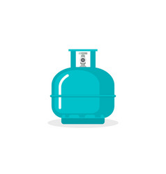 gas cylinder tank lpg propane bottle icon vector image