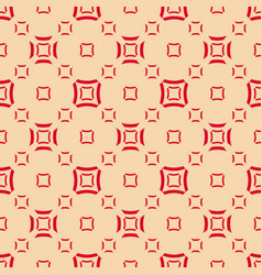 geometric seamless pattern with smooth squares vector image