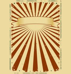 grunge sunbeams background vector image