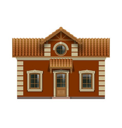 Little toy house vector