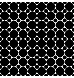 Polka dot geometric seamless pattern 608 vector image