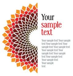 design an original card vector image vector image