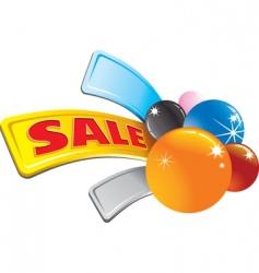 sale stylized arrow vector image vector image