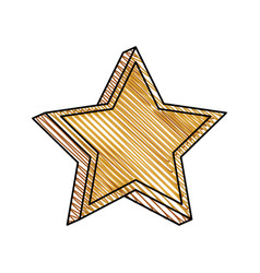 star prize decoration image vector image