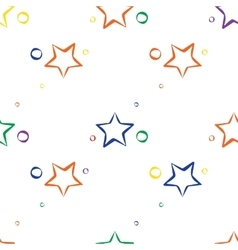 Abstract star pattern vector