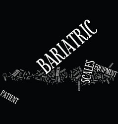 Bariatric surgery cosmetic or necessary text vector
