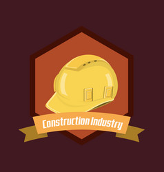 construction industry design vector image