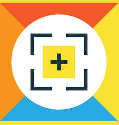 Full screen colorful outline symbol premium vector