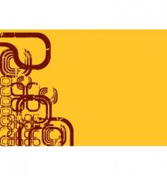 graphic montage design vector image