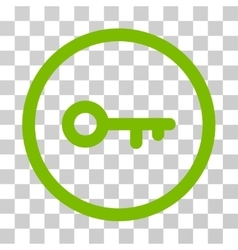 Key Rounded Icon vector