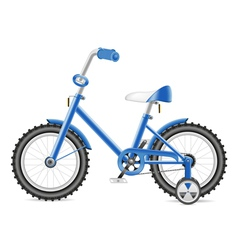 kids bicycle vector image