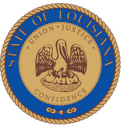 Louisiana Seal vector