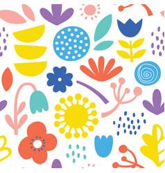 Lovely minimal scandinavian cute colorful vector