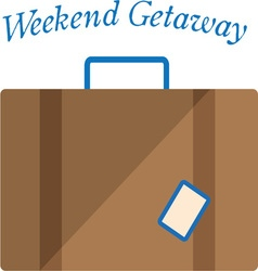Weekend Getaway vector