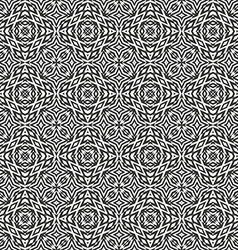 optical art abstract seamless pattern vector image vector image