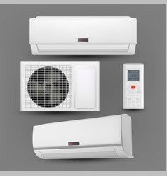 Air conditioner system with control set vector